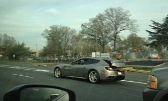 Ferrari Daily Driver: FF Spotted Carrying Lumber