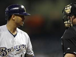 brewers player received an incredibly light penalty for punching opponent in the face