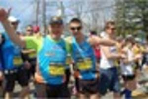 Bingham runner completes Boston Marathon a year on from...